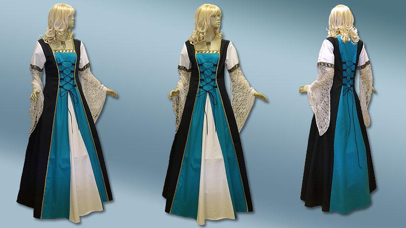 Vom Mittelalterkleid, Tunika, Waffenrock, Hochzeitskleid ...